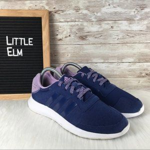 Adidas Element Refresh Womens 7 Navy Purple